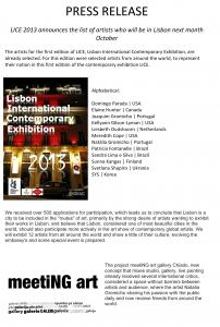 Lisbon International Contemporary Exhibition